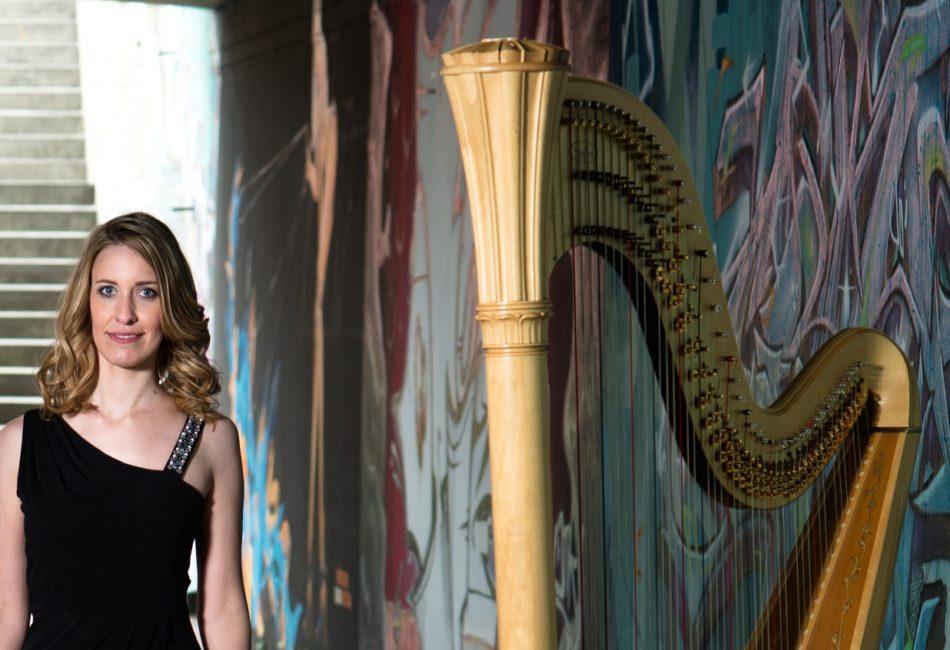 Johanna Keune, Harfenistin aus Ettlingen